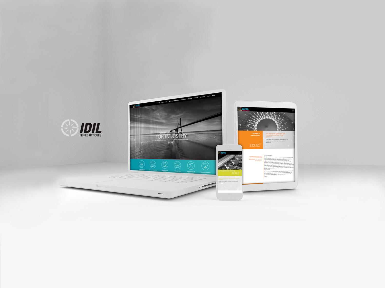 Catalogue produit - responsive webdesign